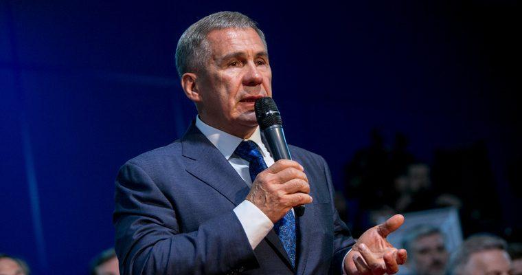 президент татарстан выдвижение новый срок