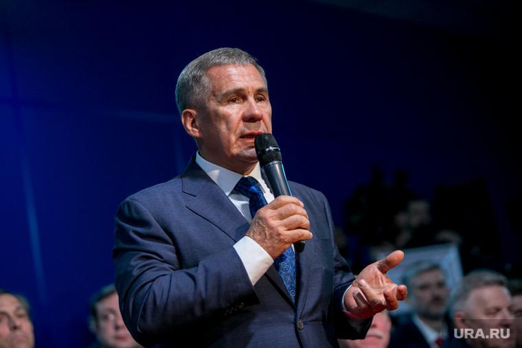 Минниханов хочет стать главой Татарстана в третий раз