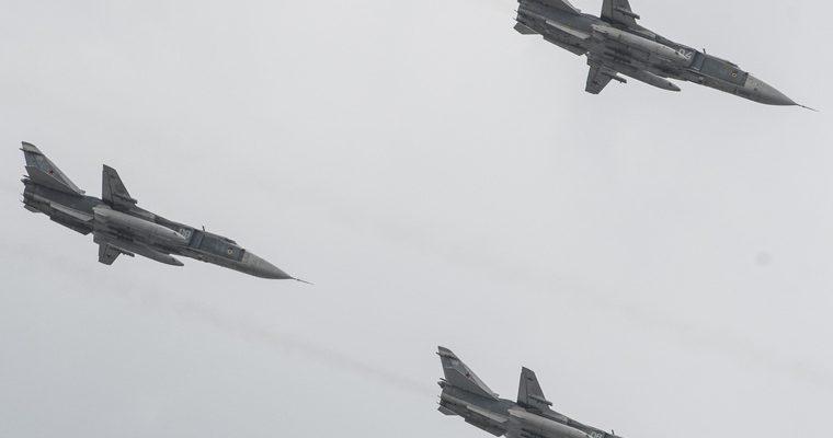 российские истребители в Ливии