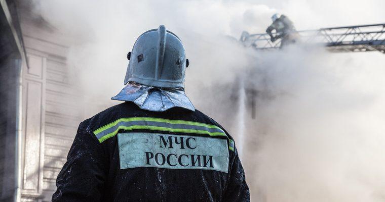 МЧС пожар Орджоникидзевский район Екатеринбург