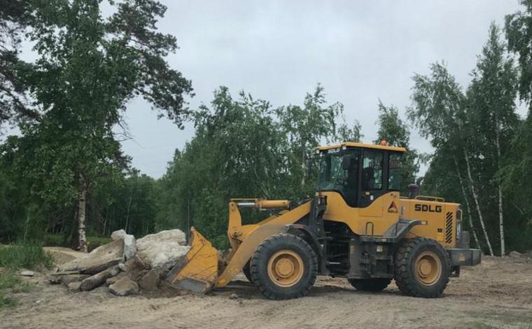 Засорявших реку в ХМАО строителей заставили навести порядок. Новости URA.RU работают!