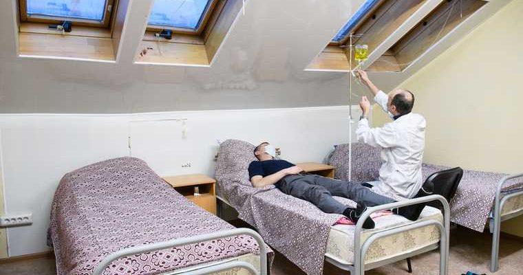 Омутинская больница стала госпиталем