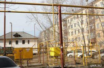 Молния ударила в газопровод в Челябинской области
