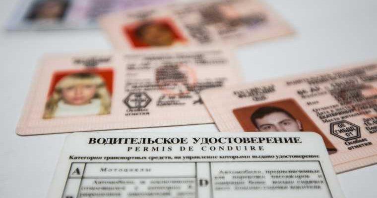 ГИБДД начала выдавать водительские удостоверения нового образца