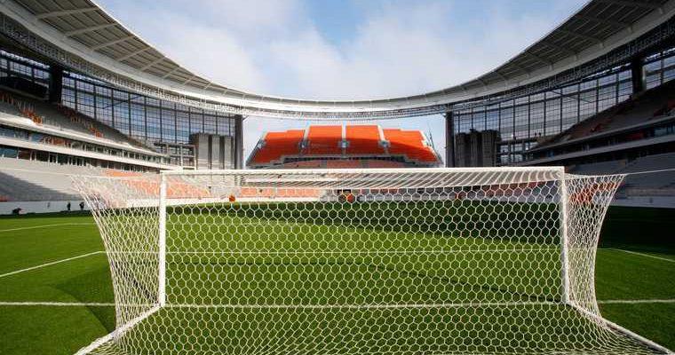 Матч на Кубок страны по футболу сыграли в Екатеринбурге