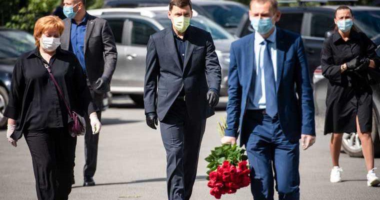 церемония прощания с министром агропромышленного комплекса Свердловской области Дмитрием Дегтярным