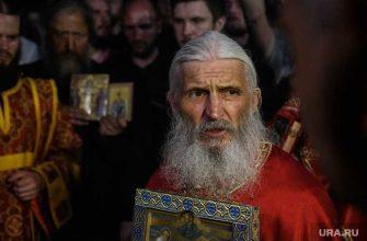 Среднеуральский монастырь крестный ход