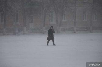 похолодание в Центральной России