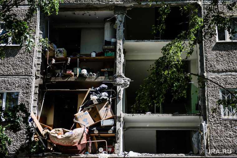 Взрыв в тюменской многоэтажке