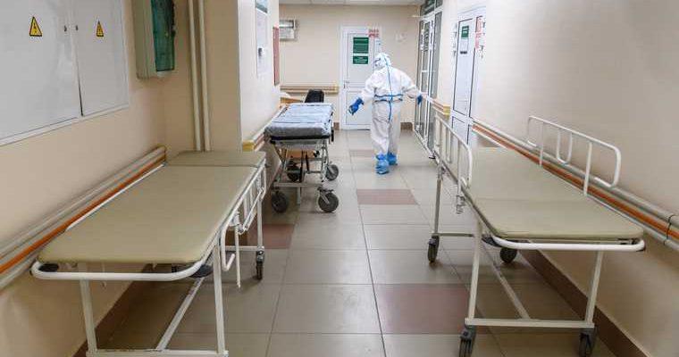 В России заканчиваются места для пациентов с коронавирусом
