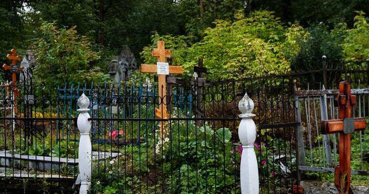вандализм на кладбище в Омской области