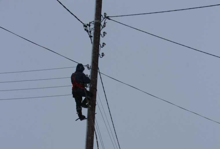 В Курганской области ураган повалил опоры ЛЭП. Энергетики назвали срок устранения аварий
