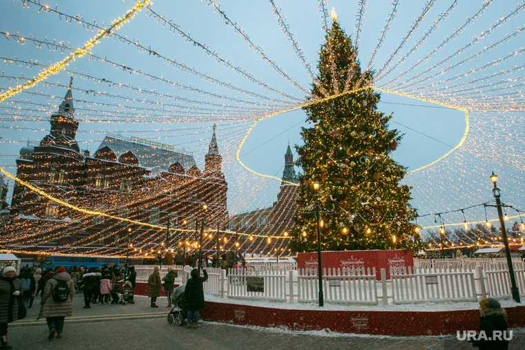 Москва Петербург коронавирус новый год