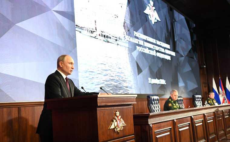 Путин готовит Россию кновой гонке сСША