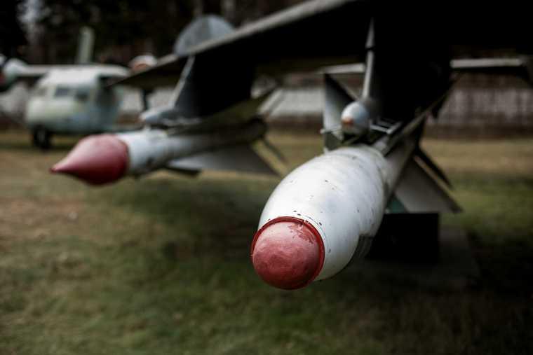 Экспонаты Центрального Музея Военно-Воздушных Сил России в Монино. Московская область, Монино