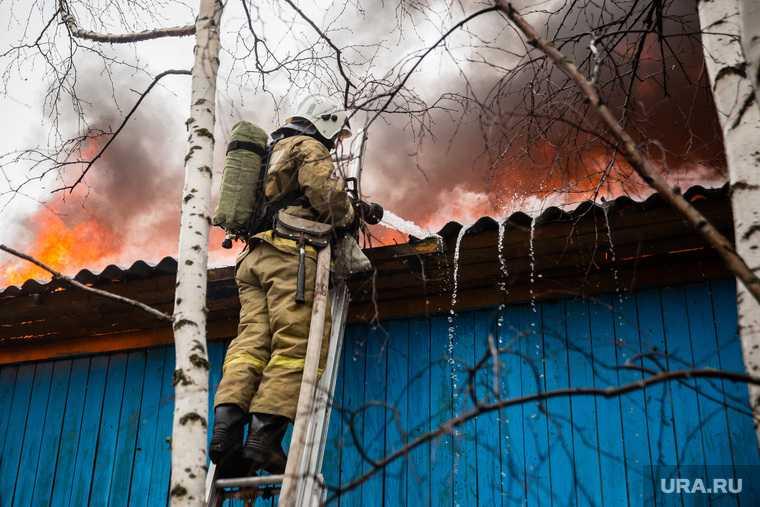 пожар тюменская область