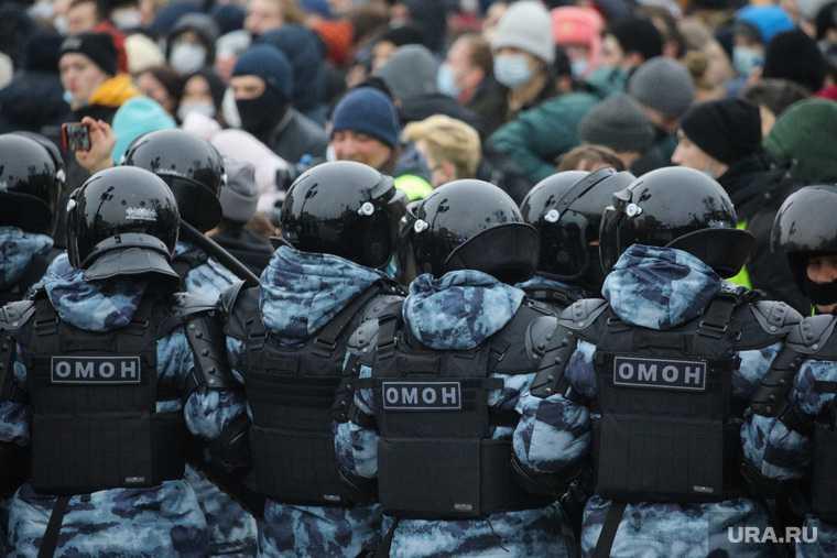 насилие полиции