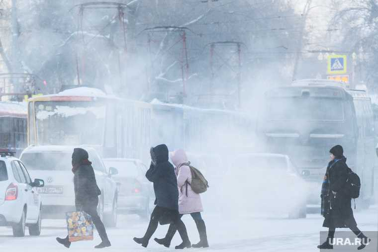 аномальные морозы в Москве
