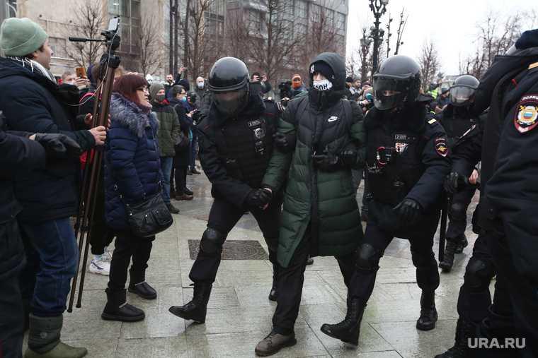 протесты за Навального 31 января