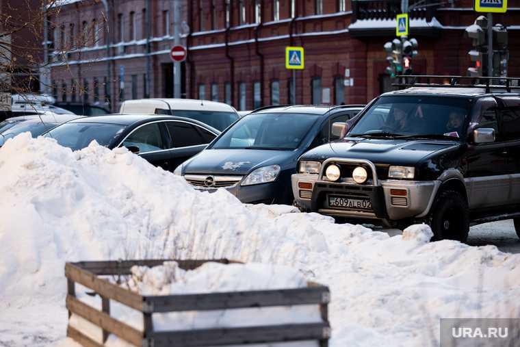 уборка снега Екатеринбург