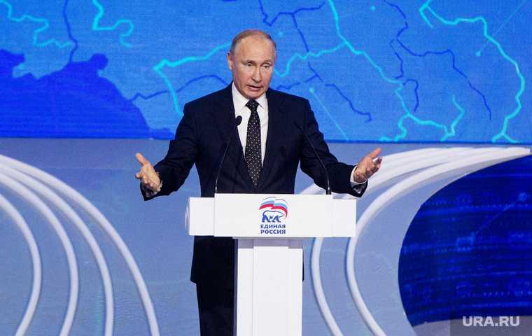 Путин возглавит Единая Россия