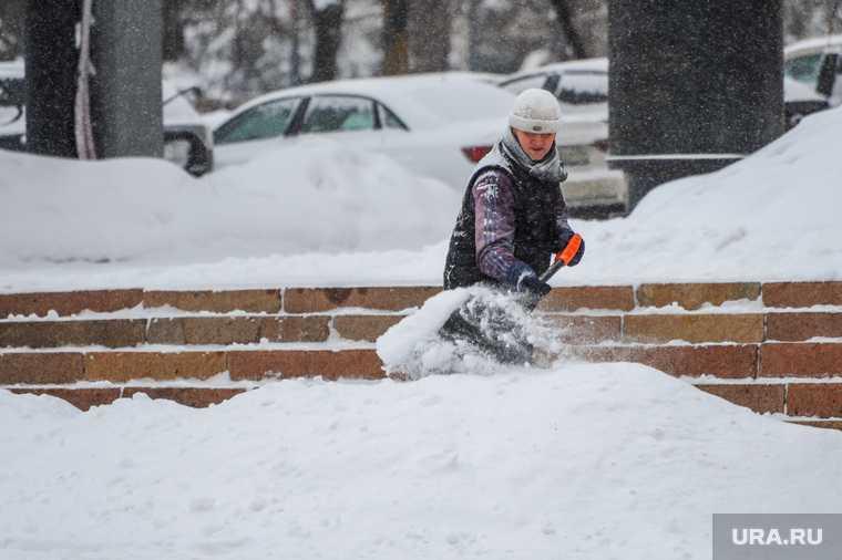 Челябинская область погода зима ветер снег морозы транспортный коллапс