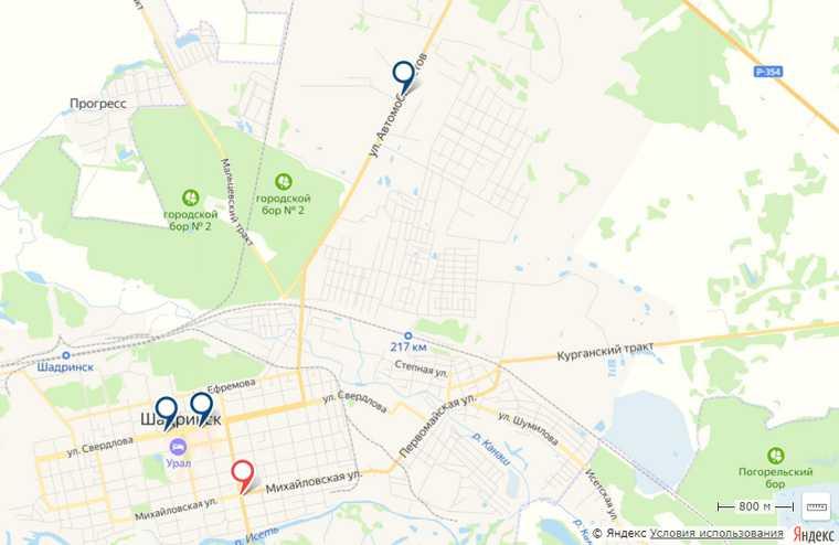 В Курганской области раскрыли места установки дорожных камер. Карта