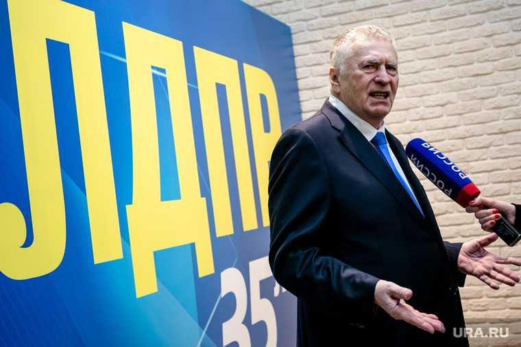 Владимир Жириновский когда уйдет ЛДПР Россия срок ухода на пенсию