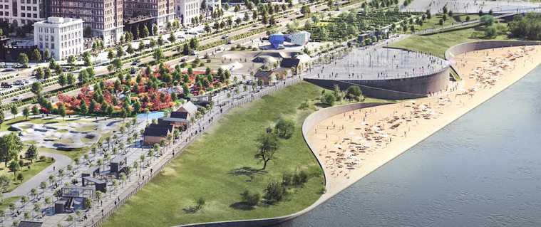 Для тюменцев хотят построить пляж прямо в центре города