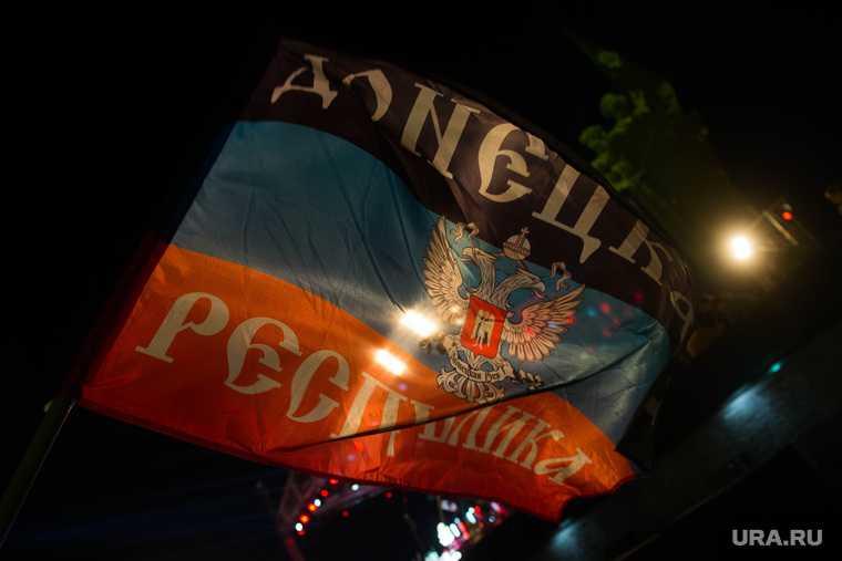 ДНР украина война фронт обострение боевые действия огонь