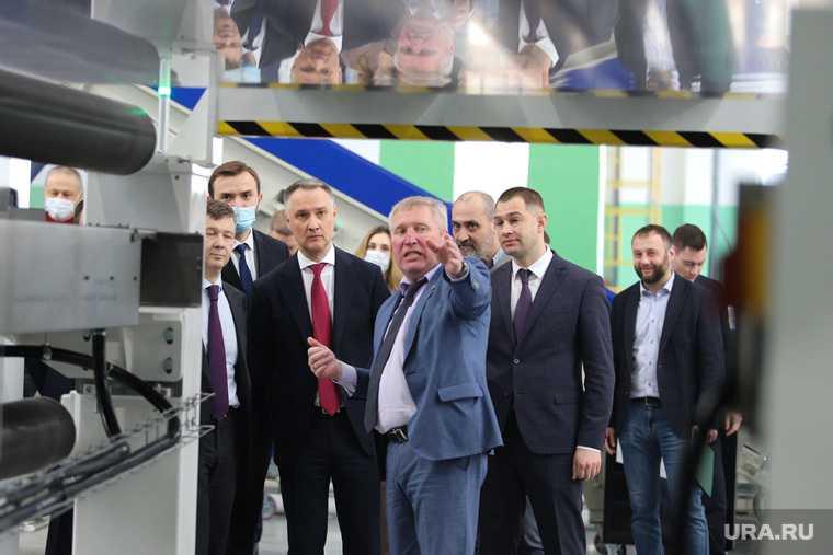 Открытие на СКТБ «Курганприбор» производства полистирольной пленки. Курган