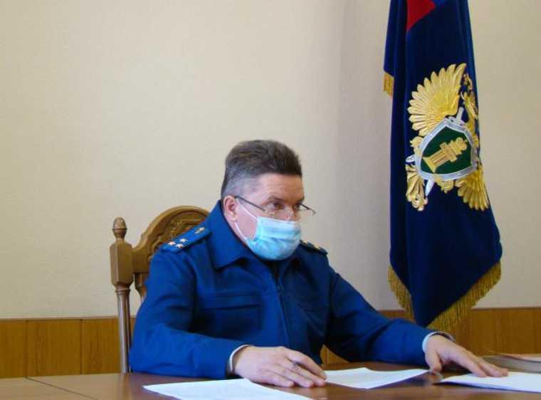 Виктор Исаакович Эпп заместитель прокурора Рязанской области