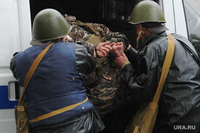 задержание Белозерцева