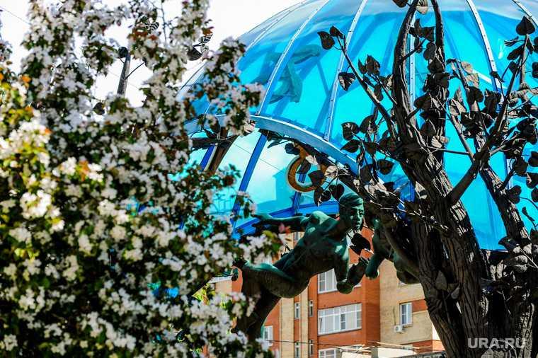 Челябинск весна погода синоптики снег