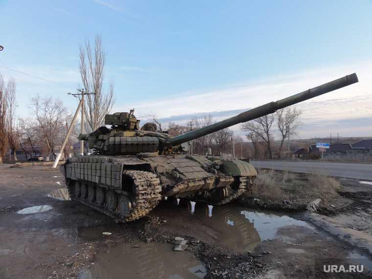 противотанковые силы в ДНР
