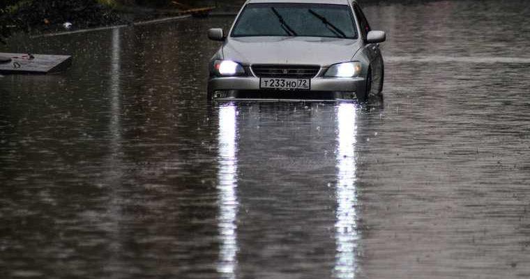 Наводнение Курган