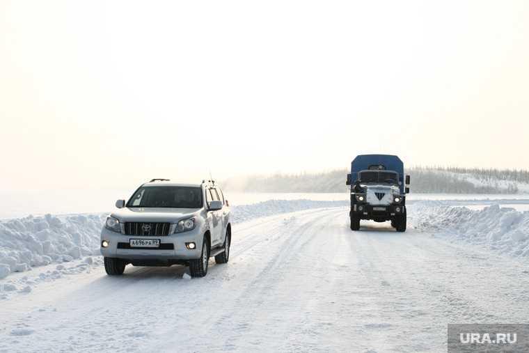новости хмао закрыли ледовые переправы зимники зимние автомобильные дороги ограничили движение отменили маршрут