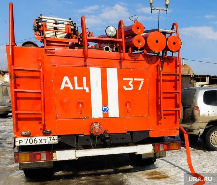 Челябинск газовое оборудование полиция пожар взрыв автомобиль