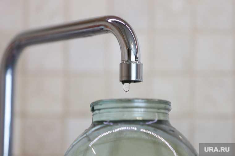 проблемы с водой Курган