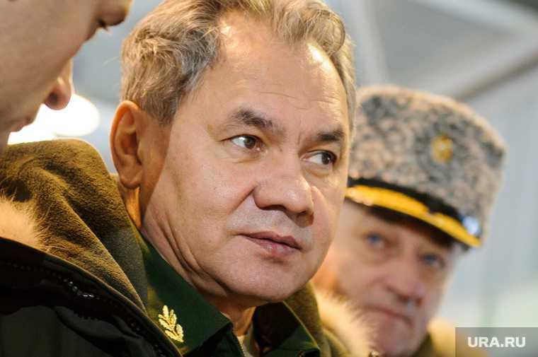 Шойгу отвел войска РФ от границы с Украиной