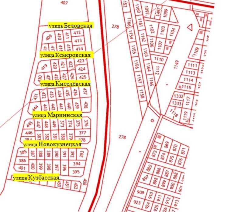 В Кургане придумали названия для 14 новых улиц. Схема