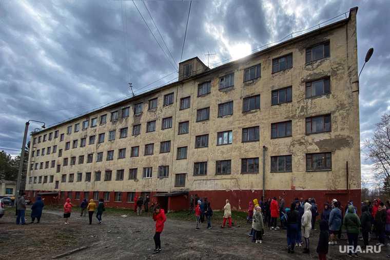 общежития закрыты
