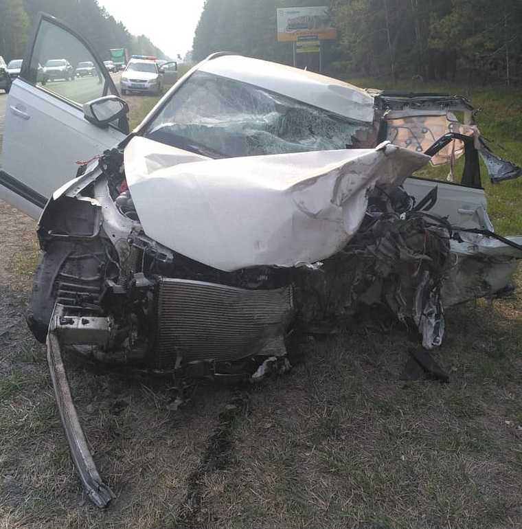 Курганская ГИБДД раскрыла подробности об аварии с пятью погибшими. Фото