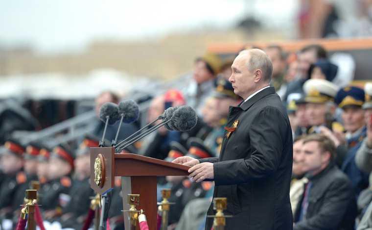 Путин новая традиция речь 9мая