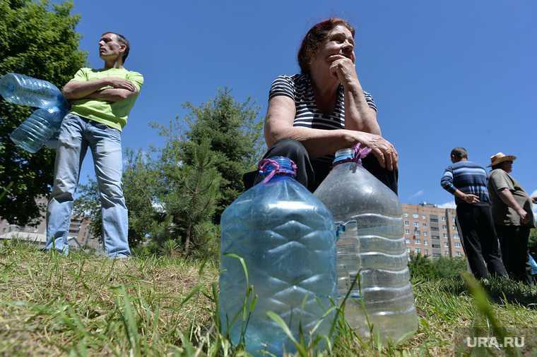 проблемы с питьевой водой жара Пермский край Пермский район
