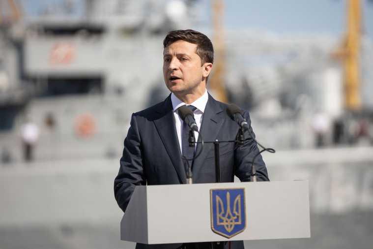 Владимир Зеленский, президент Украины. Сайт президента Украины