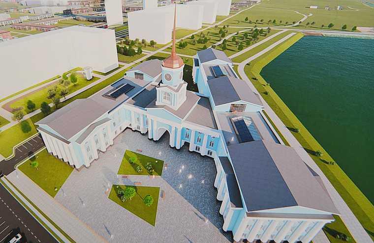 В Екатеринбурге изменили проект главного здания нового района. Фото