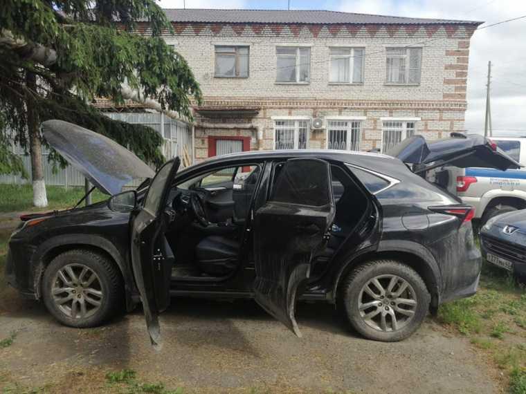 В Курганской области нашли машину, угнанную в другом регионе. Фото