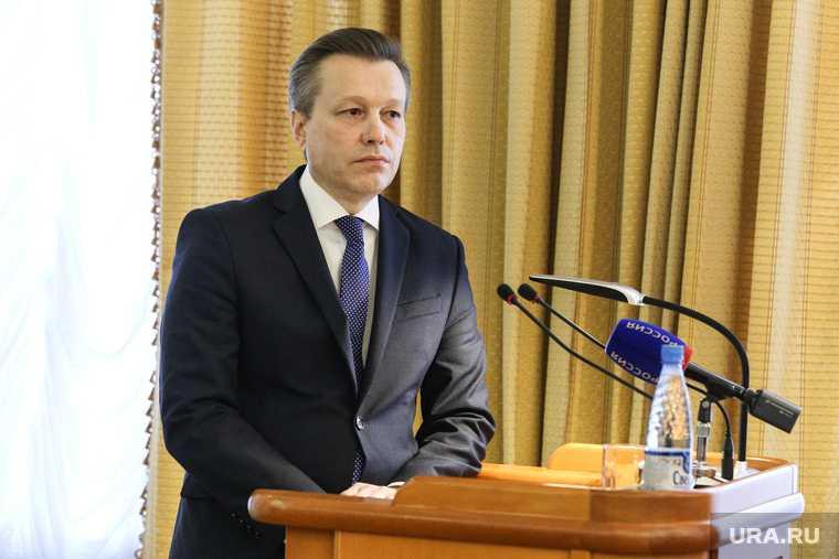 Заместитель губернатора Курганской области Константин Ермаков