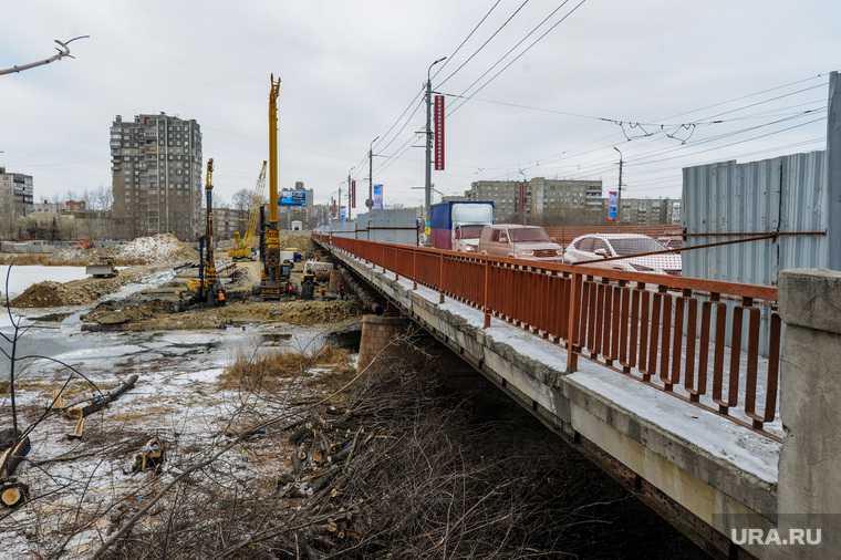 Челябинск Ленинградский мост новости